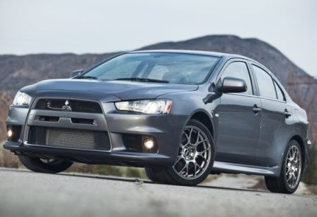 2010 Mitsubishi Evo MR Touring